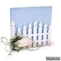 Ножи от Sizzix - ScoreBoards XL Die - Album, Garden Gate - Калитка для сада