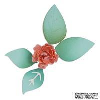 Ножи от Sizzix - Sizzix Sizzlits Die - Flower, Bloom w/Leaves 3-D