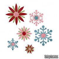 Ножи от Sizzix - Sizzix Sizzlits Decorative Strip Die - Winter Elements