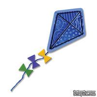 Набор лезвий с штампиками от Sizzix - Framelits Die Set 9PK w/Stamps - Kites