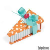 Лезвие Sizzix ScoreBoards XL Die - Box w/Lid, Cake Slice