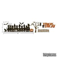 Нож от Sizzix - Alterations by Tim Holtz - Sizzlits Decorative Strip Die - Halloween Shadows