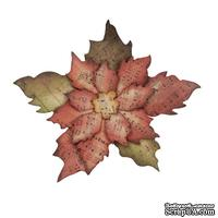 Лезвие Sizzix - Alterations by Tim Holtz - Bigz Die - Tattered Poinsettia