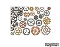 Ножи от Tim Holtz Alterations - Thinlits - Gearhead Die Set, 22 шт