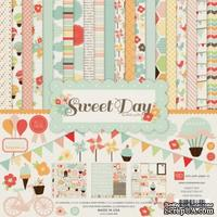 "Набор бумаги от Echo Park ""Sweet Day Collection Kits"", 30х30, 12 листов"