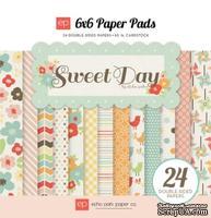 """Набор бумаги от Echo Park """"Sweet Day"""", 15x15, 24 листов"""