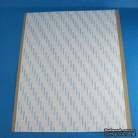 Скотч двухсторонний прозрачный в листах, размер А4; 21.5х30см, 1 лист