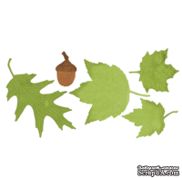 Лезвие Dimensional Small Leaves #1 от Cheery Lynn Designs