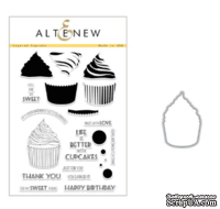 Набор ножей и штампов от Layered Cupcake Stamp & Die Bundle