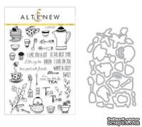 Набор ножей и штампов от Altenew - Tea Time - Stamp & Die Bundle