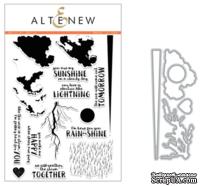 Набор ножей и штампов от Altenew - Rain or Shine - Stamp & Die Bundle
