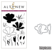 Набор ножей и штампов от Altenew - Springtime Azalea, 17 штампов + 3 ножа