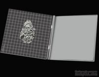Инструмент с разметкой для штампинга - Stamping Tool, 16x16 см