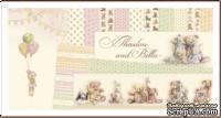 Набор двусторонней бумаги от Pion Design - Theodore and Bella -  30х30см, 26 листов