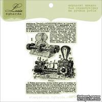 Акриловый штамп Lesia Zgharda StP003 Стимпанк механизм, размер 4,9х7 см.