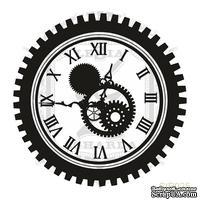 Акриловый штамп Lesia ZghardaStP025 Часы с шестерней