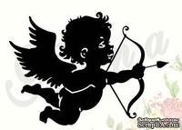 Штамп от Питерского Скрапклуба - Ангел Стреляющий 3 (Маленький)