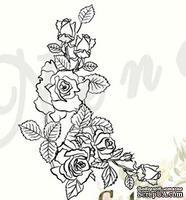 Штамп от Питерского Скрапклуба - Розы Маленькие