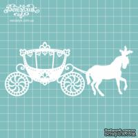 Чипборд от Вензелик - Королевская карета, размер: 15,8 x 6,7 см