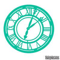 Маска (трафарет) от Kaisercraft - Clock -template T402, 12,5 Х 12,5СМ