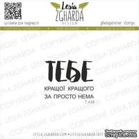 Набор акриловых штампов Lesia Zgharda Кращого (ї) за ТЕБЕ просто нема T438