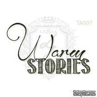 Акриловый штамп Lesia Zgharda TA007 Warm STORIES, размер 4.2х2.6 см
