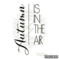 Акриловый штамп Lesia Zgharda TA021 Autumn IS IN THE AIR, размер 2.3х3.9 см
