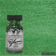 Краска с эффектом глянца от Tattered Angels - Glimmer Glaze -  Luck O the Irish, цвет зеленый