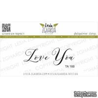 Акриловый штамп Lesia Zgharda Love You ТА188