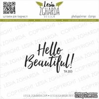 Акриловый штамп Lesia Zgharda Hello Beautiful! ТА203