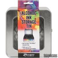 Коробочка для хранение алкогольных чернил Ranger Storage Tin