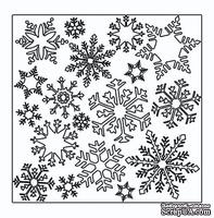 Маска The Crafter's Workshop - Mini Template Flurries, 15х15 см