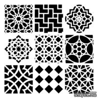 Маска The Crafter's Workshop - Moroccan Tiles, 30х30 см