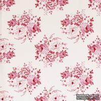 Ткань Tilda - Country Escape Mia Pink 100 % хлопок, 50х55 см