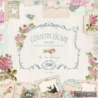 Набор бумаги Tilda - Country Escape, 8 листов, 30х30см
