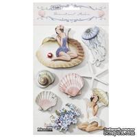 Наклейки обьемные Tilda - Seaside Life