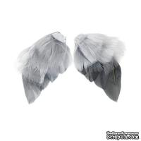 Крылья для ангела Tilda, серые, 4 штуки
