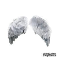 Крылья для ангела Tilda, серые, 2 штуки