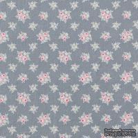 Ткань Tilda - The Corner Shop Jane Blue Grey, 100 % хлопок, 50х55 см