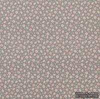 Ткань Tilda - Mrtine Warm Grey, коллекция  Sweet Christmas, 100 % хлопок, 50х55 см
