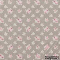 Ткань Tilda - Sweet Christmas Jane Warm Grey, 100 % хлопок, 50х55 см