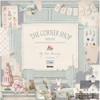 Набор бумаги Tilda - Corner Shop, 8 листов, 30х30см