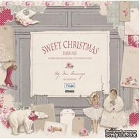 Набор бумаги Tilda - Sweet Christmas, 8 листов, 30х30см