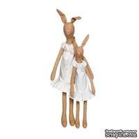 Набор Tilda - Hare Mother and Child (Кролики) + НАБОР ДЛЯ ПОШИВА СУМКИ от ММЕ В ПОДАРОК