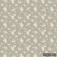 Ткань Tilda - Happiness is Homemade Lotta Grey 100 % хлопок, 50х55 см