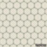 Ткань Tilda - Happiness is Homemade Olivia Grey 100 % хлопок, 50х55 см