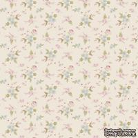 Ткань Tilda - Tiny Treasures Lotta White 100 % хлопок, 50х55 см