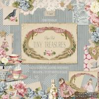 Набор скрапбумаги Tilda - Tiny Treasures, 8 листов, 30х30см