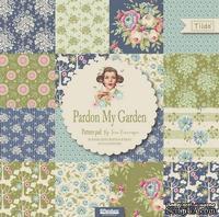 Набор скрапбумаги Tilda - Pardon My Garden, 12 листов, 30х30см