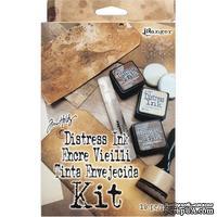 Набор чернил и инструментов Ranger - Tim Holtz Distress Ink Kit